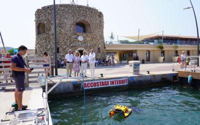 Un robot nettoyeur pour un port plus propre